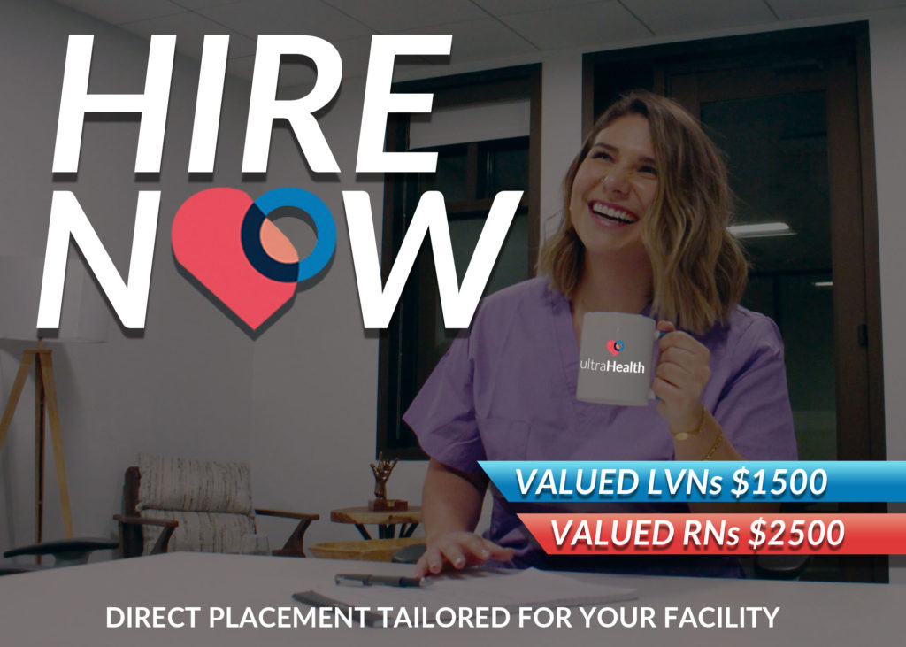 Hire Now - Direct placement tailored for your facility.